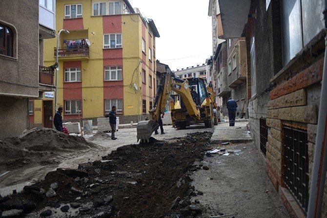 Yakutiye Erzurum'un Merkezini Sokak Sokak Yeniliyor