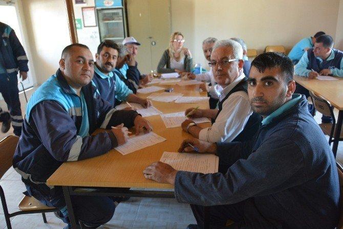 Yunusemre Personeline İş Güvenliği Eğitimi
