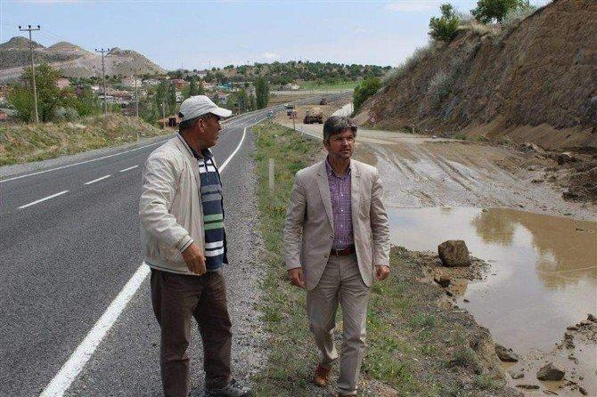 Nevşehir-aksaray Çevre Yolunda Yol Yapım Çalışmaları Başladı