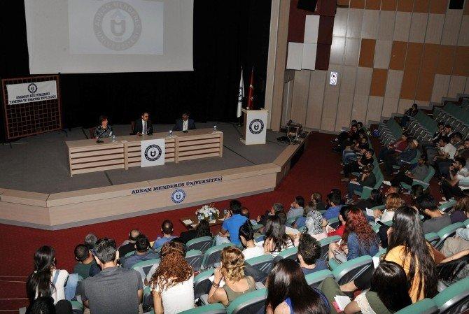 ADÜ'de Anadolu Kültürlerinin Renleri 'Romanlar' Paneli Düzenlendi