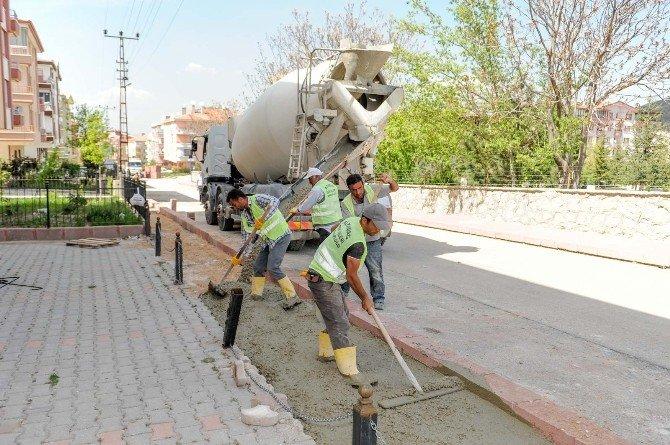 Altındağ Belediyesi 2016 Tretuvar Döşeme Çalışmaları Başladı