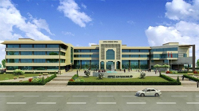 Kepez'e Yeni Hükümet Konağı