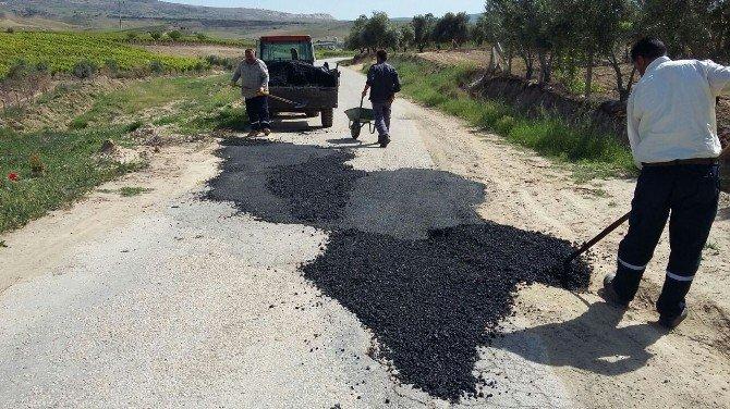 Alaşehir Belediyesi'nden Asfalt Çalışması