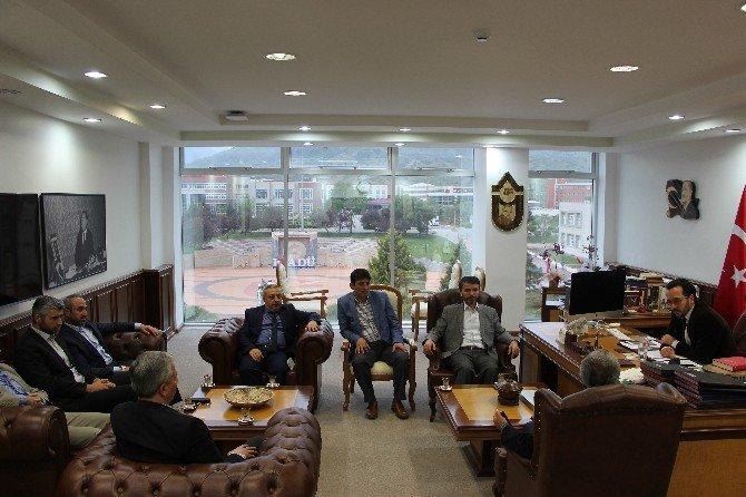 Sivil Toplum Kuruluşlarından ADÜ Rektörü Bircan'a Ziyaret