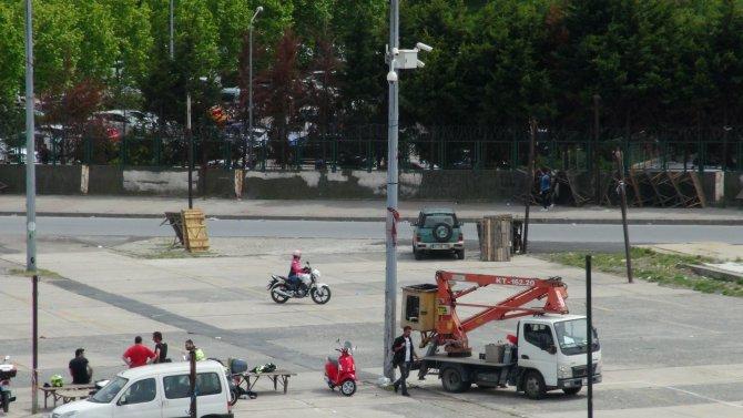 Bakırköy'de 1 Mayıs hazırlığı