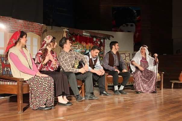 Öğrenciler ' Sultan Gelin'i oynadı