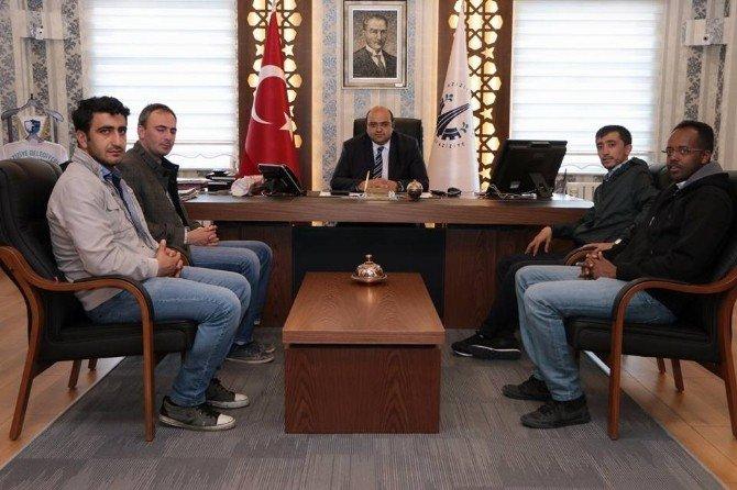 Başkan Orhan'a Teşekkür Ziyareti
