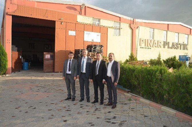 SGK İl Müdürlüğü'nden Düzenli Prim Ödeyen Esnaflara Teşekkür Ziyareti