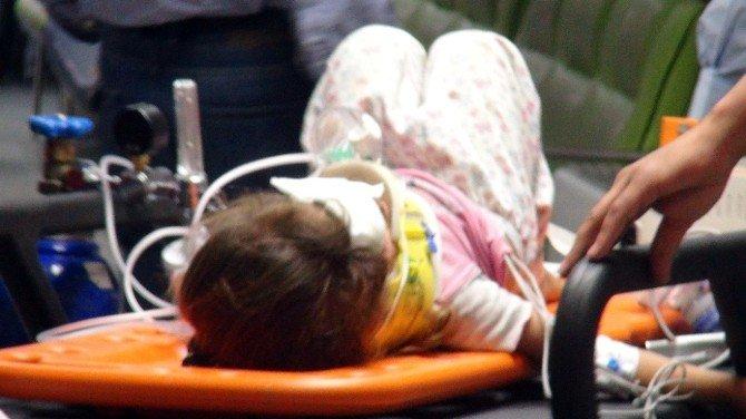Damdan Düşen Çocuklar Ağır Yaralandı