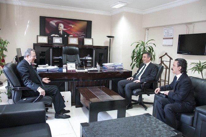 Belçika Krallığı Ankara Büyükelçisi Marc Trentescau, Van Valiliğini Ziyaret Etti