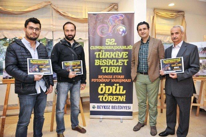 """""""52. Cumhurbaşkanlığı Türkiye Bisiklet Turu -Beykoz Etabı """"Konulu Fotoğraf Yarışması Ödülleri Sahibini Buldu"""