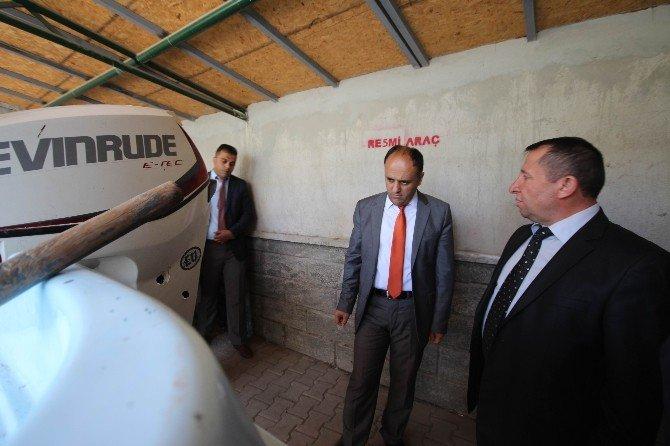 Başkan Özaltun'dan Su Ürünleri Denetim Ekibine Saldırıya Kınama