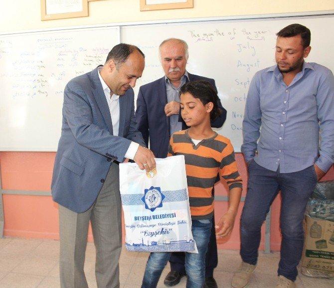 Başkan Özaltun, Suriyeli Öğrencilerle Bir Araya Geldi