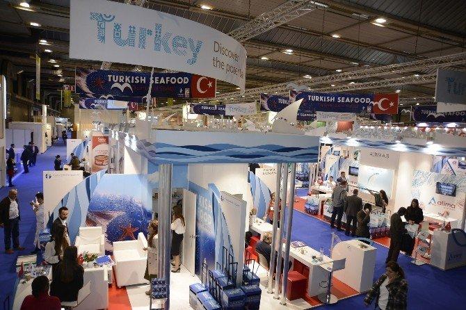 Türk Firmaları, Brüksel'i Balıkla Doyurdu