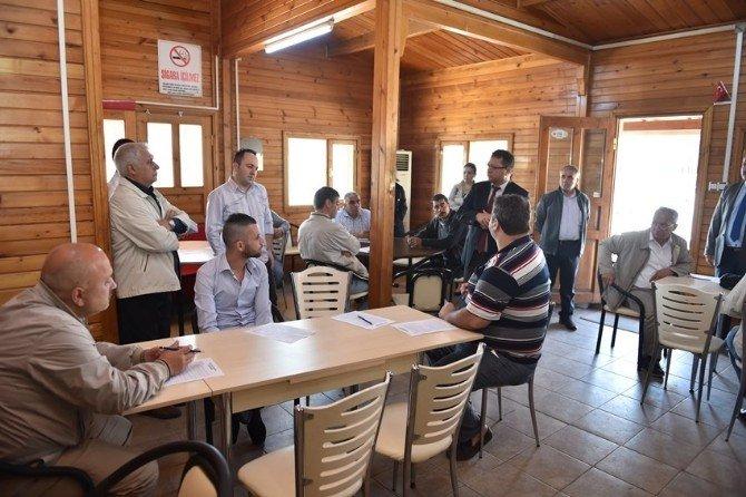 Çanakkale'de Şoför Adayları Sınav Ve Eğitimden Geçti