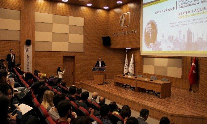 Başkan Taşdelen, Atılım Üniversitesi'nde Mimar Adaylarla Buluştu