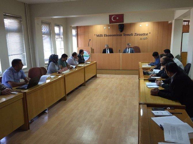 Çatak Projesi Bilgilendirme Ve Değerlendirme Toplantısı Yapıldı