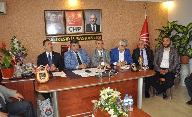 CHP Genel Sekreteri Sındır Balıkesir'de
