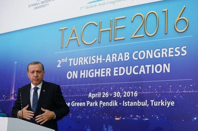 """Cumhurbaşkanı Erdoğan: """"Öz Güvenini Yitiren Bir Milletin Tekrar Tarih Yazması Mümkün Değildir"""""""