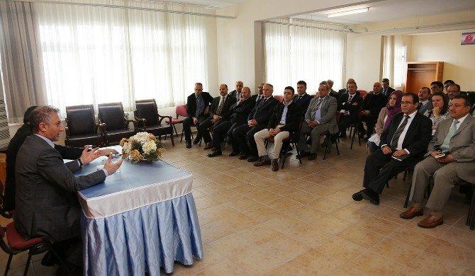İhlas Koleji'nin Yeni Genel Müdürü Bedri Yeltekin