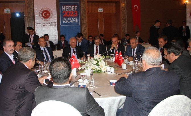 Bakan Elitaş Van'da 'Hedef 2023 Ortak Akıl Toplantısı'na Katıldı