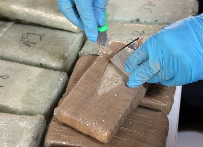 45 Kilo Eroinle İlgili 3 Şüpheli Tutuklandı