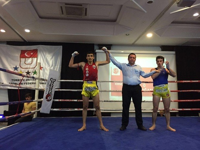 ERÜ Muay Thai Takımı Türkiye Şampiyonu Oldu