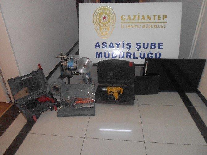 Gaziantep'te İş Yeri Ve Oto Fareleri Yakalandı