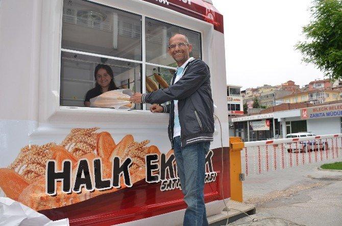 Bilecik Belediyesi Günlük Satılan Halk Ekmeği Sayısını Arttırdı