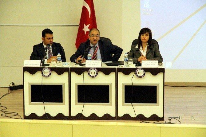"""Harran Üniversitesinde """"Dün-bugün-yarın"""" Konferansı Düzenlendi"""