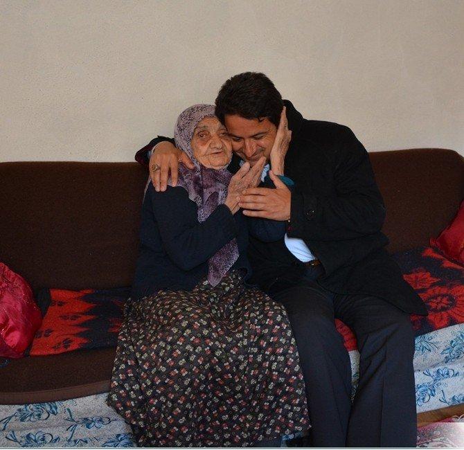 Başkan Kalın'ın Hasta Ve Yaşlı Ziyaretleri