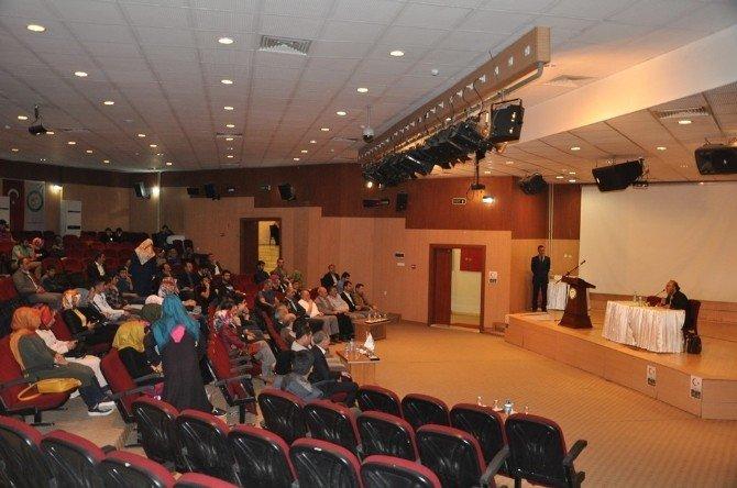 """Iğdır Üniversitesi'nde """"Bahar"""" Konulu Şiir Dinletisi Yapıldı"""