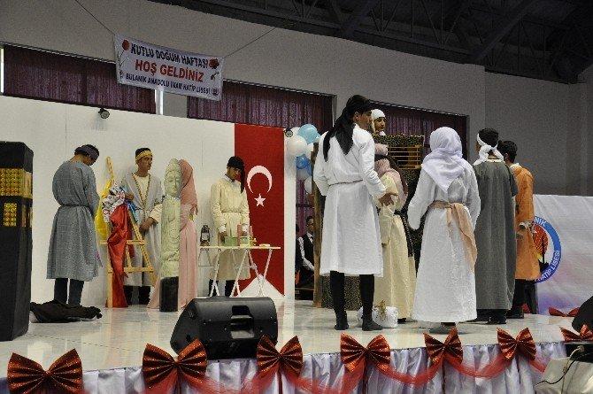 Bulanık Anadolu İmam Hatip Lisesinde Kutlu Doğum Etkinliği