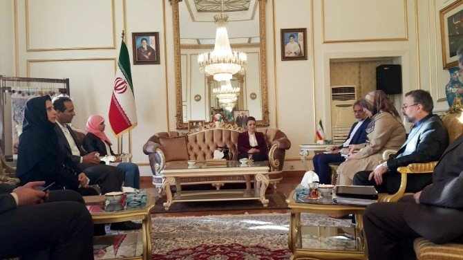 Başkan Emine Atasoy'dan İran Sanayi, Maden Bakan Yardımcısı Yazdani'ye Ziyaret