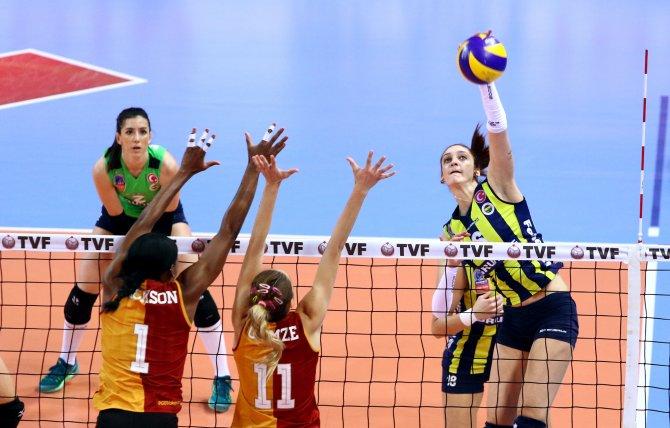 Galatasaray Daikin: 1 - Fenerbahçe Grundig: 3