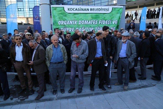 """Başkan Çolakbayrakdar,"""" Organik Domates Fidesi Dağıtacağız"""""""