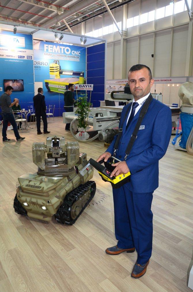Terörle mücadele için uzaktan kumandalı insansız araç üretildi