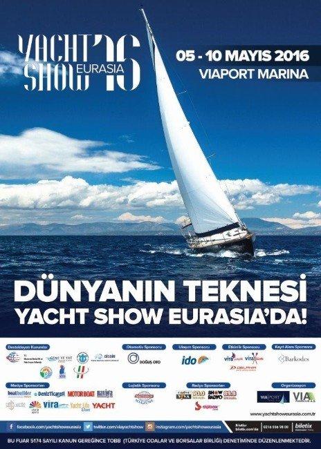 """""""Yat Sektörü, Ekonomik Daralmayı 'Yachtshow Eurasıa'da Aşacak"""""""