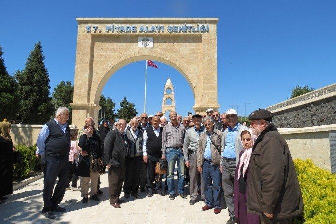 Mudanya Yeni Cami Cemaatinden Şehitlere Vefa Ziyareti