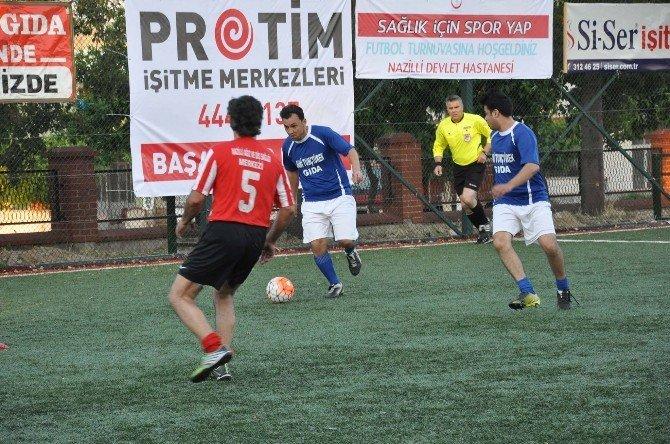 Nazilli Devlet Hastanesi 2. Halı Saha Futbol Turnuvası Başladı