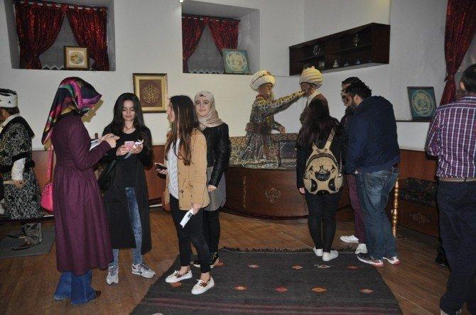 OMÜ Tıp Fakültesi Öğrencileri Amasya'da