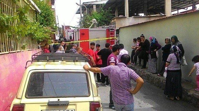 İki Yaşındaki Mustafa Çıkan Yangında Öldü
