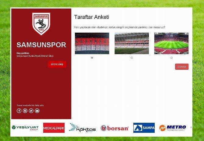 Samsunspor'dan Stat Koltukları İçin Anket