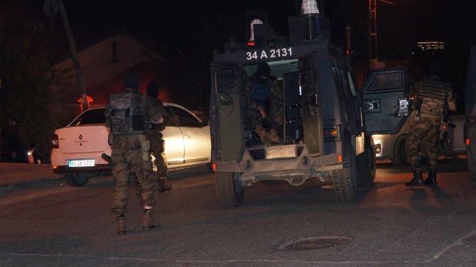 Sarıyer'de terör operasyonu