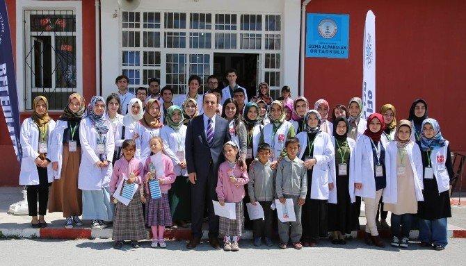Sızma'da Öğrencilere Sağlık Taraması