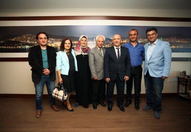 (Tekrar) Tokatlılardan Başkan Altınok Öz'e Ziyaret