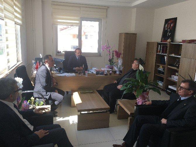 Bozüyük TSO Yöneticileri Meslek Yüksekokulunu Ziyaret Etti