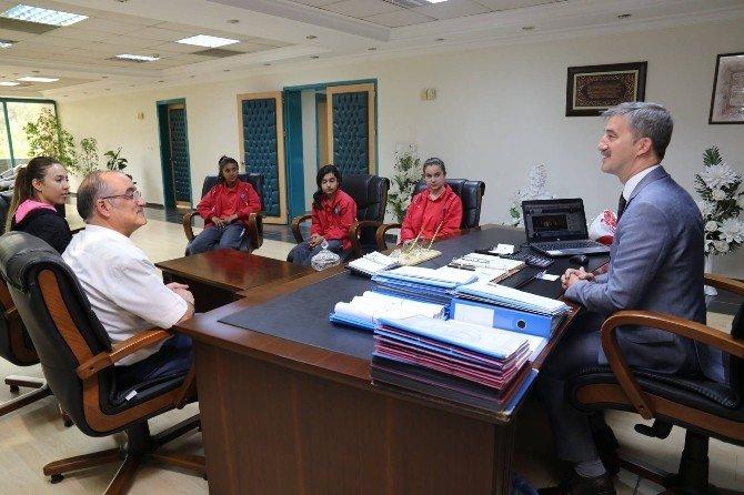 Başkan Şirin'e Eğitim Camiasından Ziyaretçi Akını