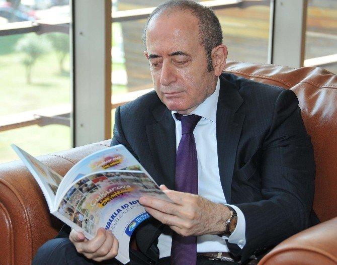 Hamzaçebi'den Başkan Çetin'e Ziyaret