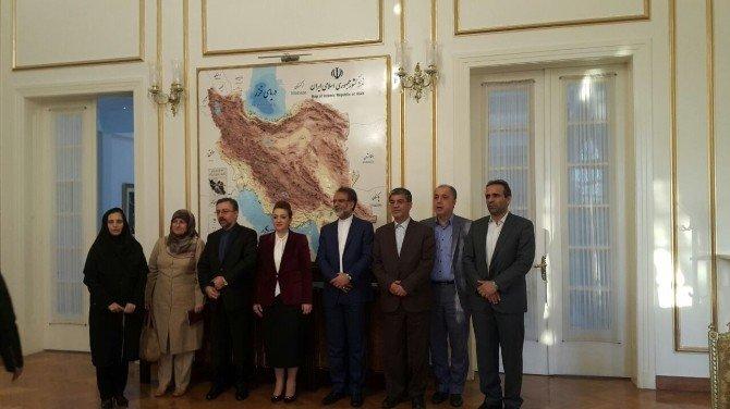 Sankon Genel Başkanı Atasoy, İran Sanayi Maden Ve Ticaret Bakan Yardımcısı Yazdani İle Görüştü
